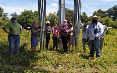 ENTREGA DE LÁMINAS A COMUNIDAD MILAGROS SEGUNDO MONTES